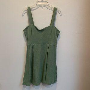 Light green mini dress